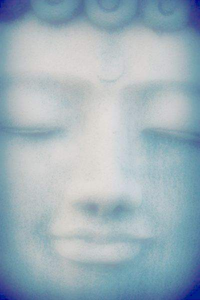 Buddha face relax with Enchanted Music Spa
